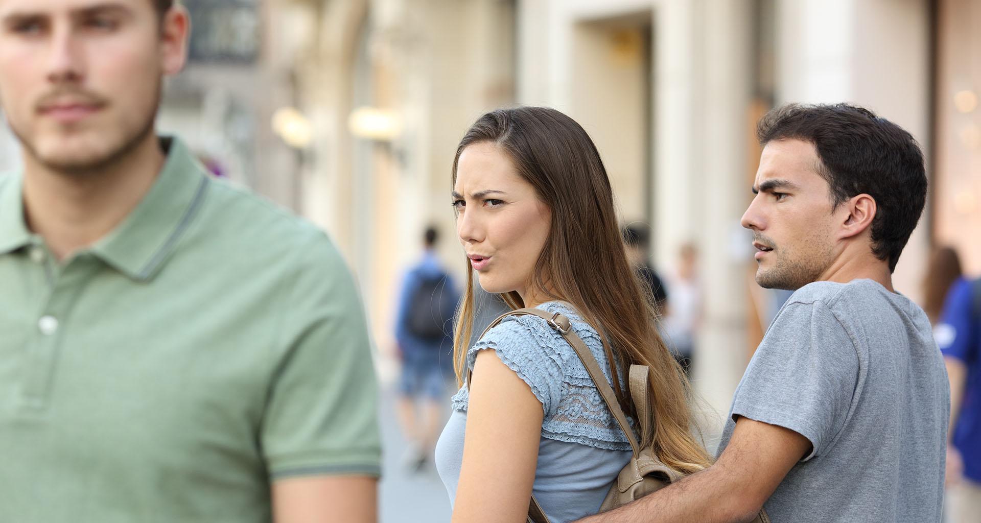 check wife's disloyal past