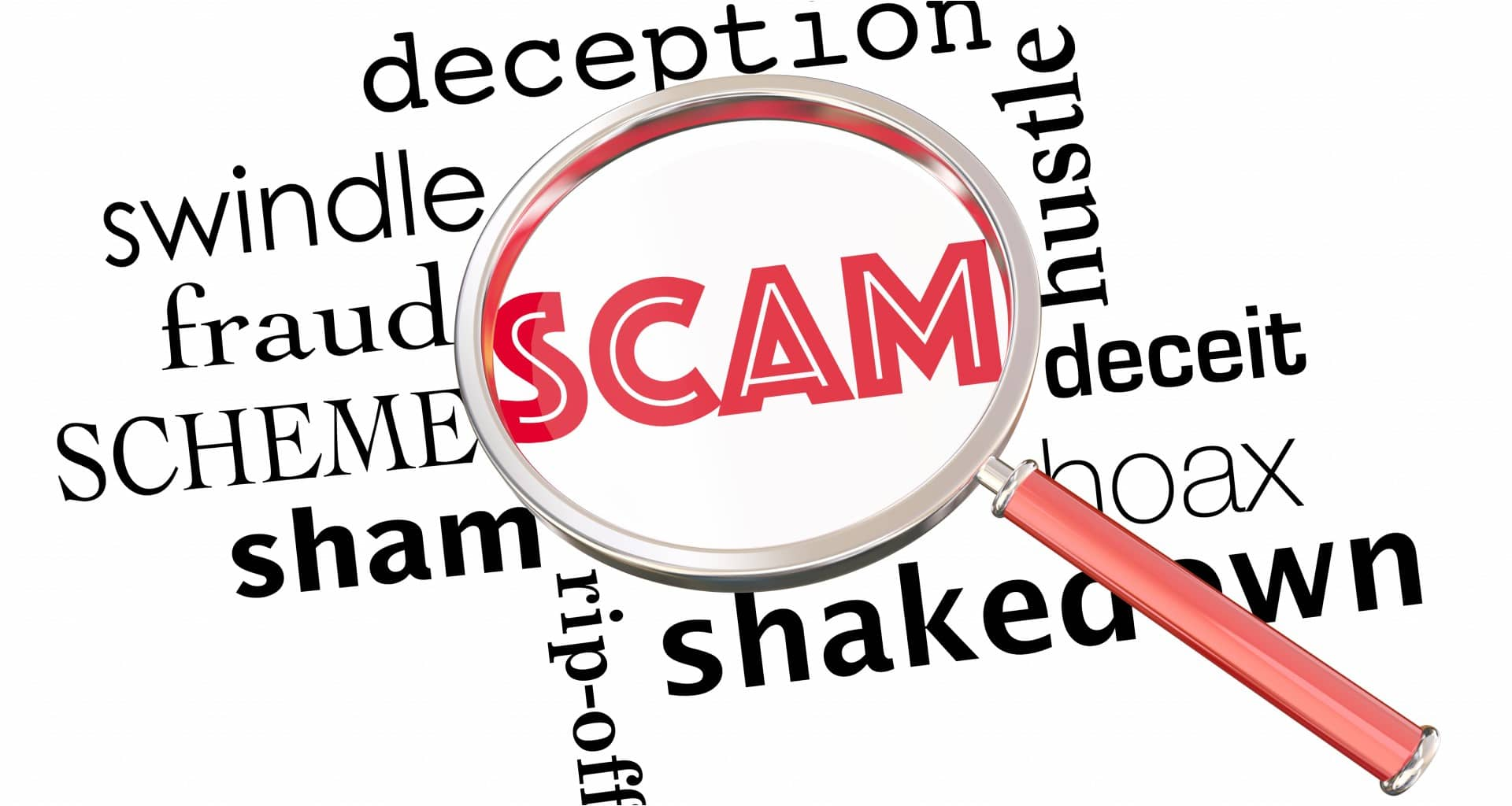 a rundown of all scams