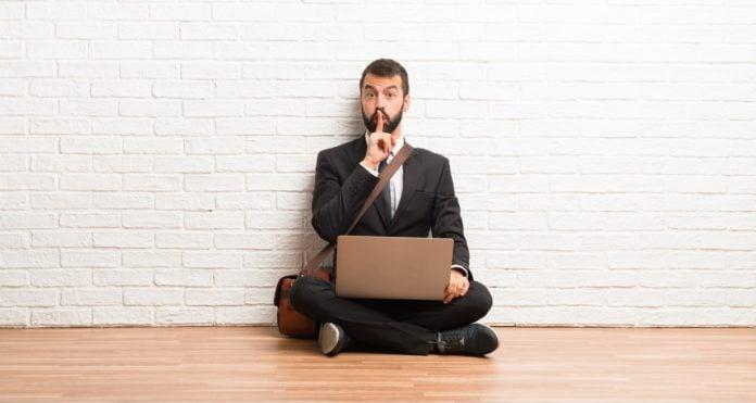 partner being secretive about job