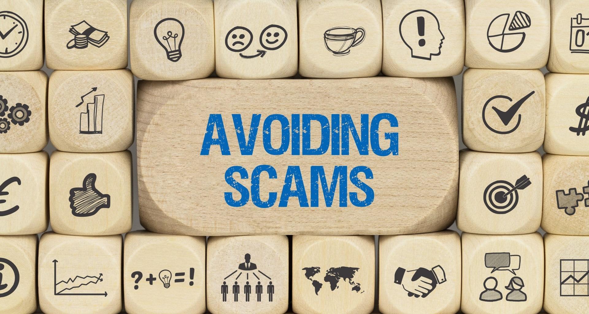 Avoiding Popular Scams