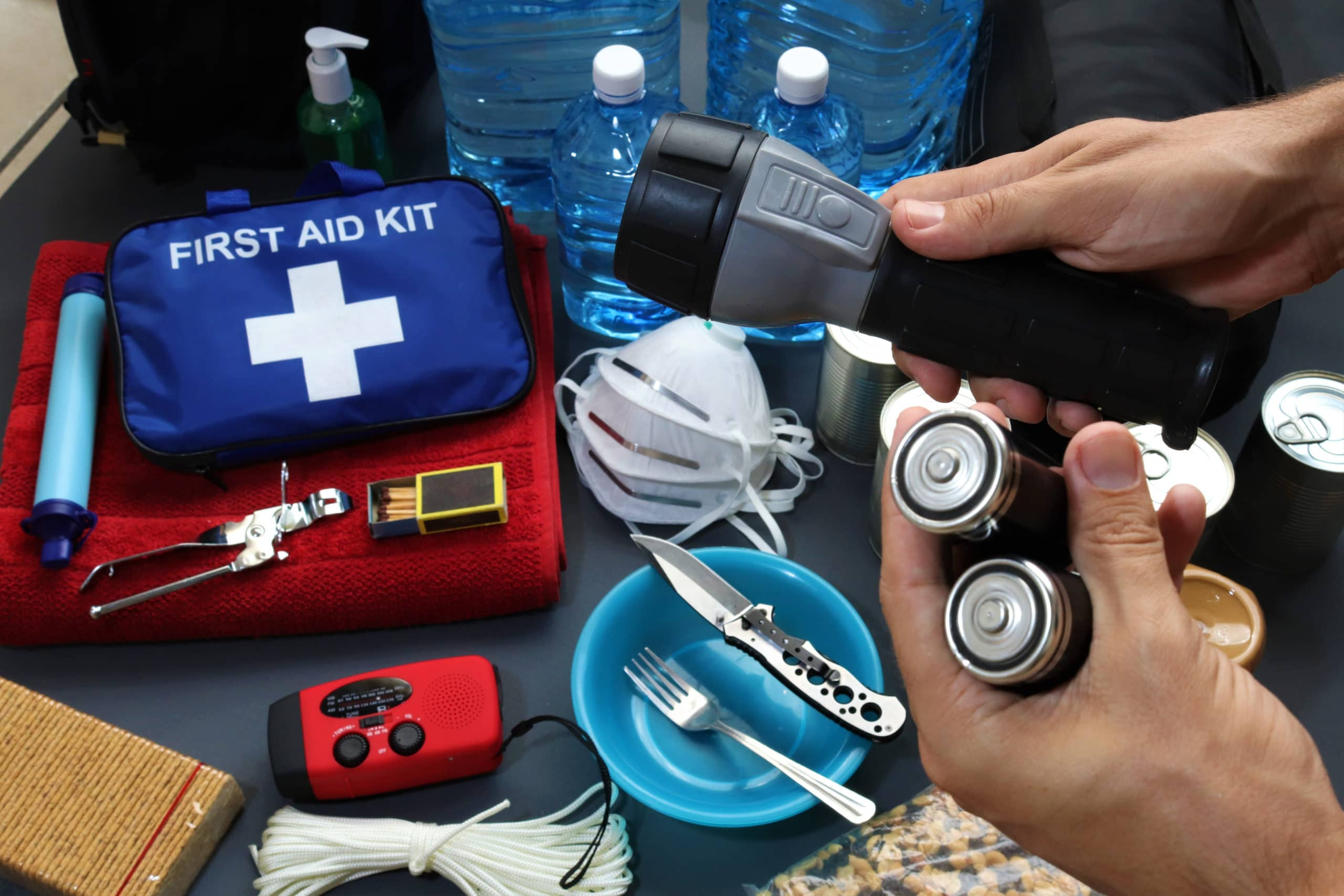 Items for Safety Toolkit